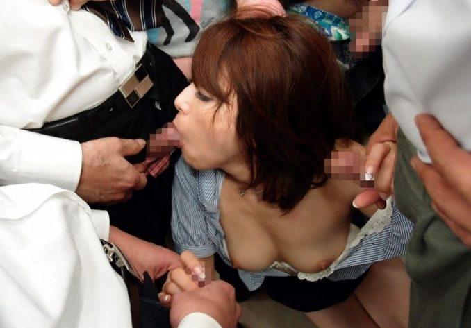 白木優子-人妻 陵辱 痴漢 電車